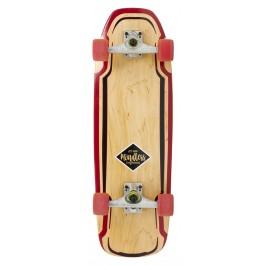 Longboard Mindless Surf Skate Rouge 30