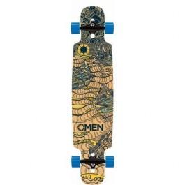 Longboard Omen Heavenly Hills 8.5'' Wood/Blue