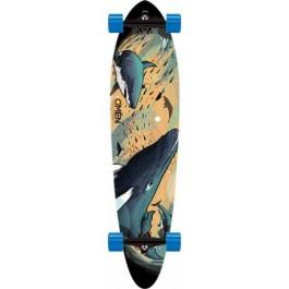 Longboard Omen Sea Life 9.1'' Sand/Blue