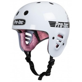 Casque Pro-Tec Full cut Mark Gonzales White/Pink