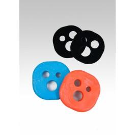 Pucks pour gants de slide Holesom P-Swiss
