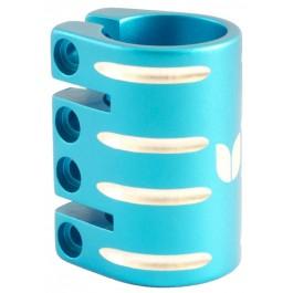 Quadruple collier de serrage Blazer bleu