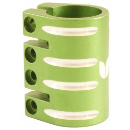Quadruple collier de serrage Blazer vert