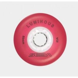 Roue Seba Luminous rouge (80mm en expé 48h)