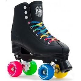 Rio Roller Figure Quad Skates Noir
