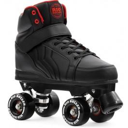 Rio Roller Kicks Quad Skates Noir