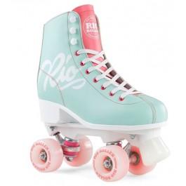 Rio Roller Script Quad Skates bleu ciel
