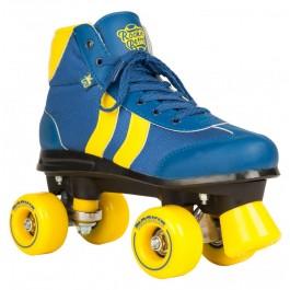 Roller Quad Rookie Retro V2 bleu et jaune