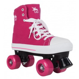 Roller Quad Rookie Canvas High rose