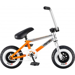 Mini BMX Rocker Chromium Silver/Orange