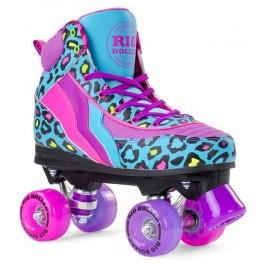 Rio Roller Leopard Quad Skates