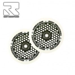 Roues Root Industries Honeycore 120mm White