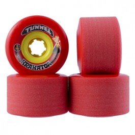 Set de roues Tunnel Krakatoa 70mm/81a rouge