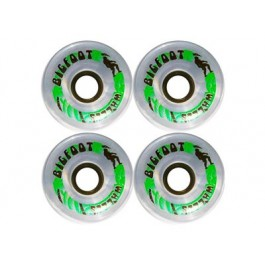 roues BigFoot Paradise clear 70mm 78a