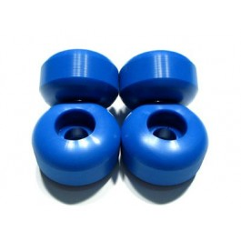 Roues Blank Wheels 52mm bleues x4