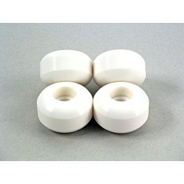 Roues Blank Wheels 54mm blanches x4
