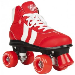 Roller Quad Rookie Retro V2 rouge