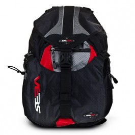 Sac SEBA Backpack Small Full Black/Red