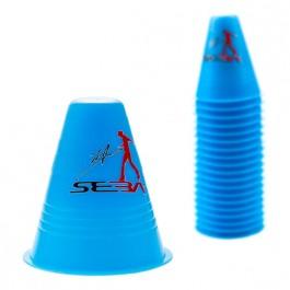 Cones Seba Dual density bleu