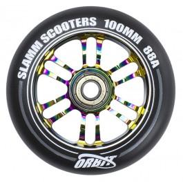 Roue Slamm 100mm  88A Orbit Neochrome