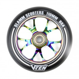 Roue Slamm 110mm 88A V-Ten II Neochrome