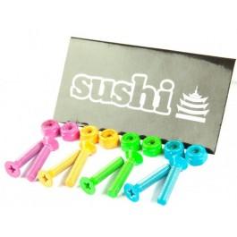 Visserie Sushi multicolor cruciforme 1