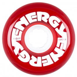 Roues Radar Energy 65mm 78a Clear Red