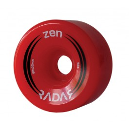 Roues Radar Zen 62mm/85a Rouge