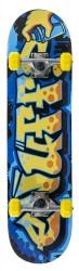 "Acheter Skate Enuff Graffiti II 7.25""x29.5"" Blue/Yellow"