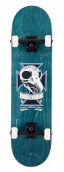 """Acheter Skate Birdhouse Stage 3 Skull 2 7.75"""" Bleu"""