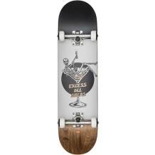 "Skate Globe G1 Excess - White/Brown 8"""