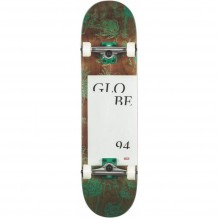 "Skate Globe G2 Typhoon Green 8.25"""
