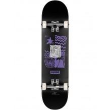 "Skate Globe G1 Fairweather Noir/Violet 7.75"""