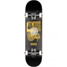 "Skate Globe G1 Fairweather Noir/Jaune 8"""