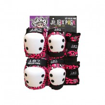 Pack de protections Junior complet rose