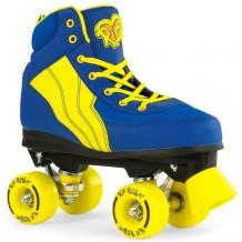 Rio Roller Pure Quad Skates Bleu/Jaune