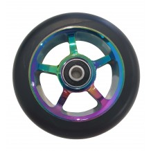 Roue Antik 5 Spokes 100mm Oil Slick