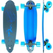 "Longboard Beercan Boards Pin Tail 30"" Bleu"
