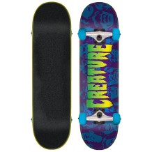 "Skate Creature Faces 7.75"" Black/Blue"