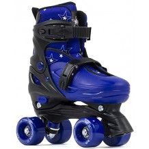Roller Quad SFR Nebula Ajustable Noir/Bleu