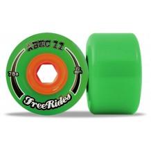 roue Abec 11 centerset freerides 72mm
