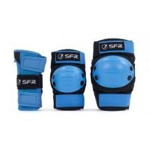 Pack de protections SFR bleu pour enfant