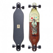"Longboard Arbor Axis Artist Collection 'Hablak' 40"" Wood/Black"