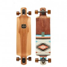 "Longboard Arbor Catalyst Flagship Native Series 41"" Wood/Brown"
