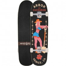 Longboard Arbor Cucharon Legacy Rose Collection 32""
