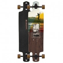 Longboard Arbor Dropcruiser Photo Collection 'Surf Trip' 38""