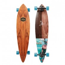 Longboard Arbor Fish  Groundswell Flowers 37""