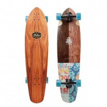 Longboard Arbor Mission Groundswell Flowers 35""