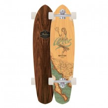 Longboard Arbor Mission Groundswell Series 'Mermaid' 35""