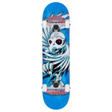Skate Birdhouse Stage 1 Hawk Spiral blue  7.75""
